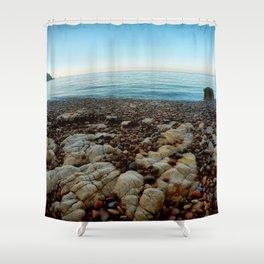 Secret bay Shower Curtain