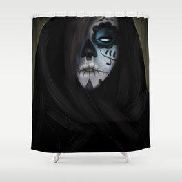 Muertos Shower Curtain