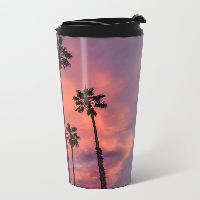 tropical vibes Metal Travel Mug