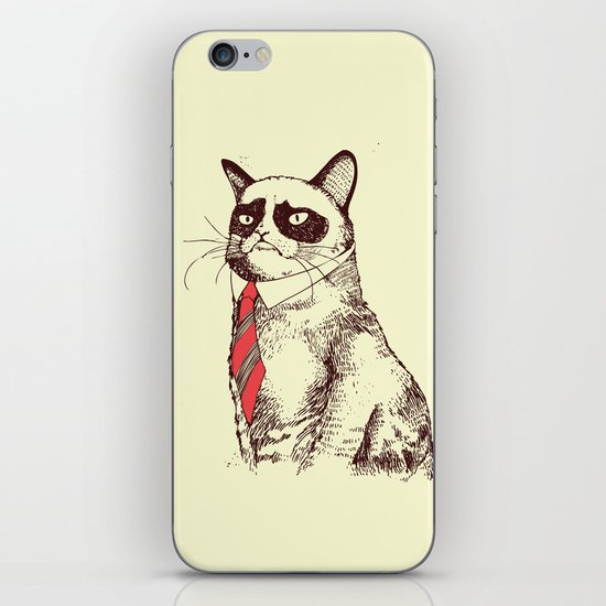 OH NO! Monday Again! iPhone & iPod Skin