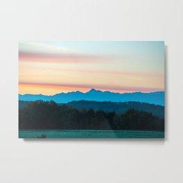 Montanha Metal Print