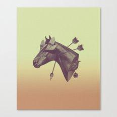 Blind Horse Canvas Print
