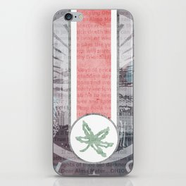 The Buckeye State iPhone Skin