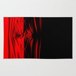 Shockwave Red Rug
