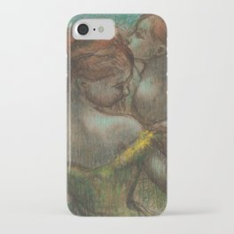 "Edgar Degas ""Two dancers - half-length"" iPhone Case"