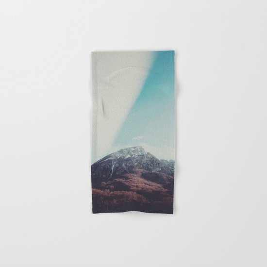 Mountains in the background XIII Hand & Bath Towel