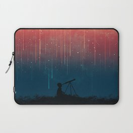 Meteor rain Laptop Sleeve