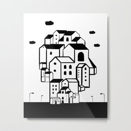 where is your home? Metal Print