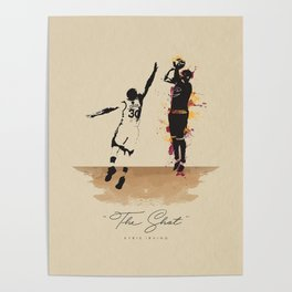 """The Shot"" Kyrie Poster"