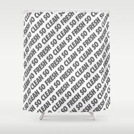 #TBT - SOFRESHSOCLEAN Shower Curtain