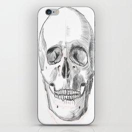 Skull Study iPhone Skin