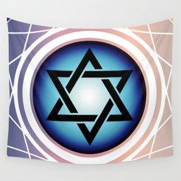 Jewish Star of David Wall Tapestry