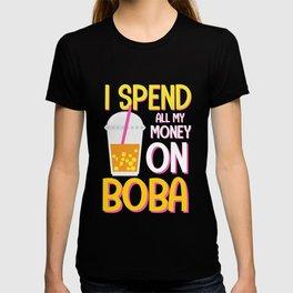 Bubble Tea Tapioca Pearl Lover T-shirt