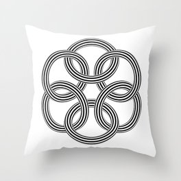 Rings #2 Throw Pillow