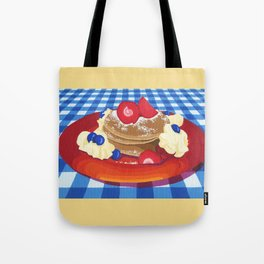 Pancakes Week 10 Tote Bag