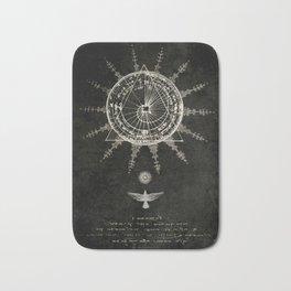 Book of the Sun (akashic records) Bath Mat