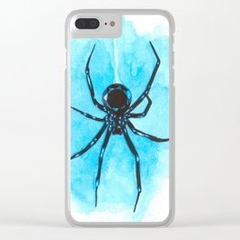 Diamond spider Clear iPhone Case