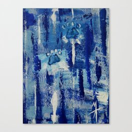 State of Blue #1 Canvas Print