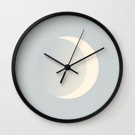 Ethereal Moon Wall Clock