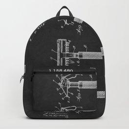 Gillette 1915 Safety Razor Patent  Backpack