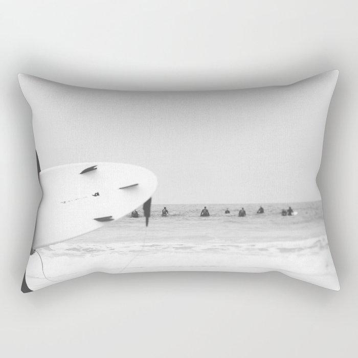 catch a wave II Rectangular Pillow