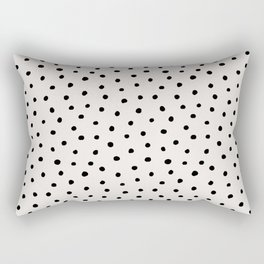 Perfect Polka Dots Rectangular Pillow