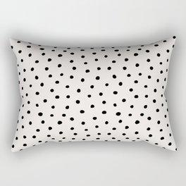Perfect Polka Dots Rectangular Pillow