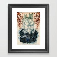 The Forest Folk Framed Art Print