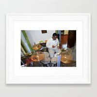 drums Framed Art Prints featuring Drums by 1000images