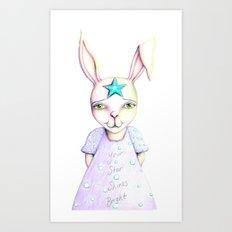 Your Star Shines Bright Art Print