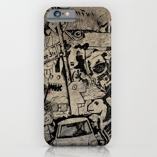 Berlin Street Art concrete iPhone & iPod Case