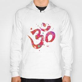Colorful Om Symbol Hoody