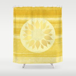 Sunflower under the Tuscan Sun Shower Curtain