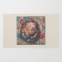 leo Area & Throw Rugs featuring Leo by Heinz Aimer