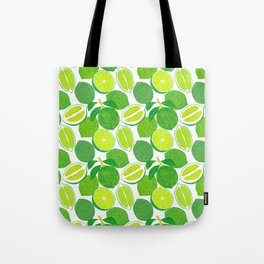 Lime Harvest Tote Bag
