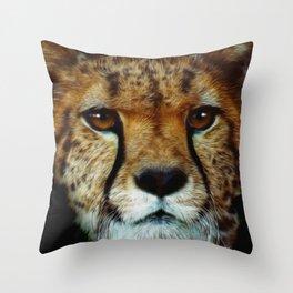 Cheetah Love Throw Pillow
