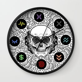 Side Effects Inverted Cover Art Wall Clock