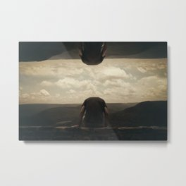 I'm Lost In Celebrating, I'm Not The Only One Metal Print