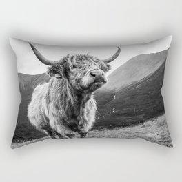 Highland Coo Rectangular Pillow