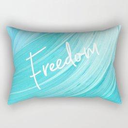Freedom Art Rectangular Pillow
