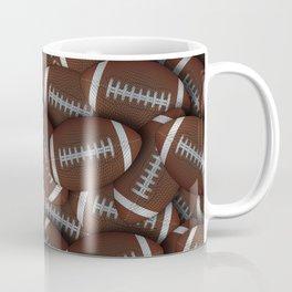Footballs Footballs Everywhere Coffee Mug