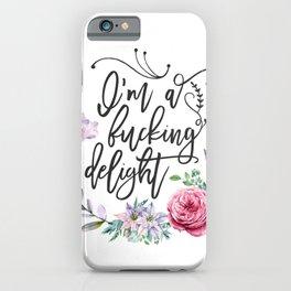 Delightful iPhone Case