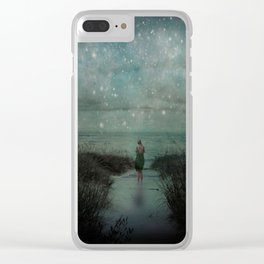 Stars in the Night Sky Clear iPhone Case