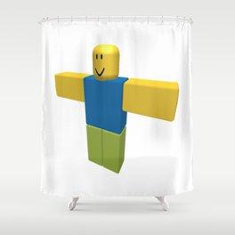 Roblox Shower Curtain