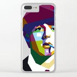 Paul McCartneyy Clear iPhone Case