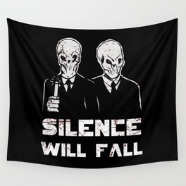 The silence. Wall Tapestry