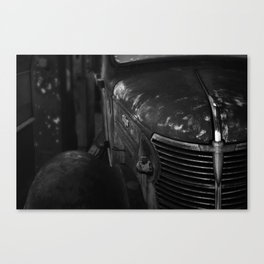 there's something particularly American  about particular patinas Canvas Print