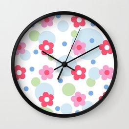 Bubbly spring Wall Clock
