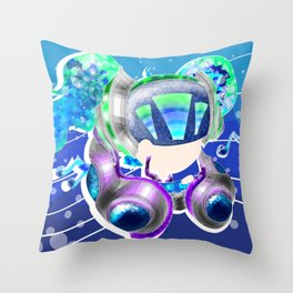 DJ Sona Throw Pillow