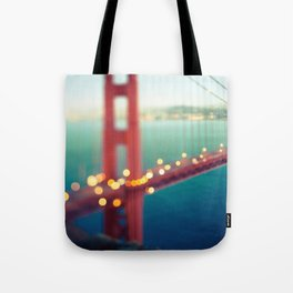 Meet Me In San Francisco Tote Bag